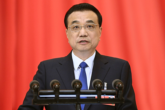 LI Keqiang, Chinese Premier during the Two Sessions 2020 in Beijing on Belt and Road Initiative (BRI)