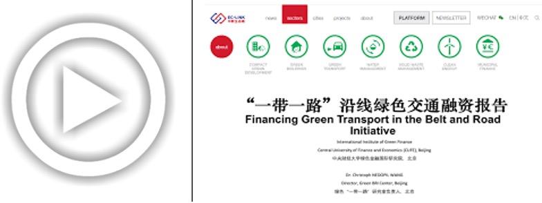 Green Urban Transport in the BRI Webinar