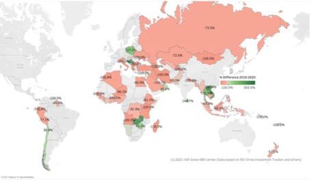 2019-2020 BRI Investments Map