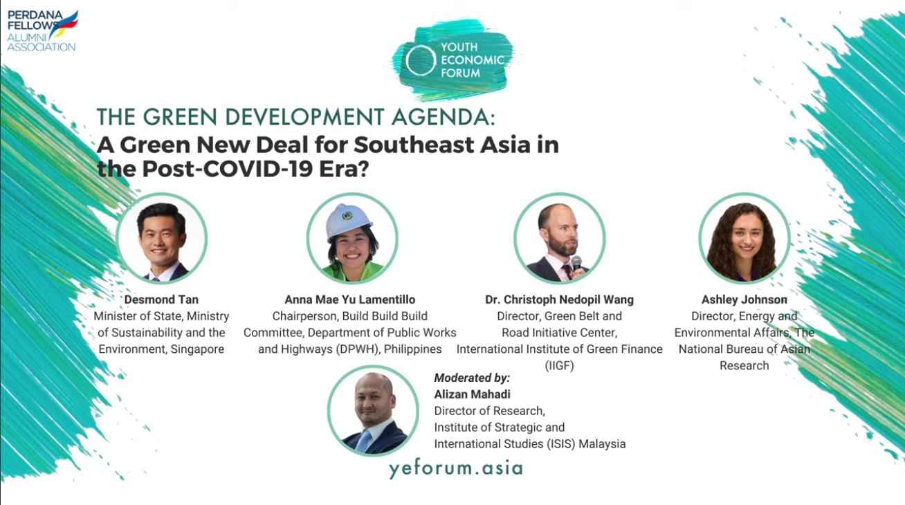 The Green Development Agenda: A Green New Deal For Southeast Asia in the Post Covid 19 Era.