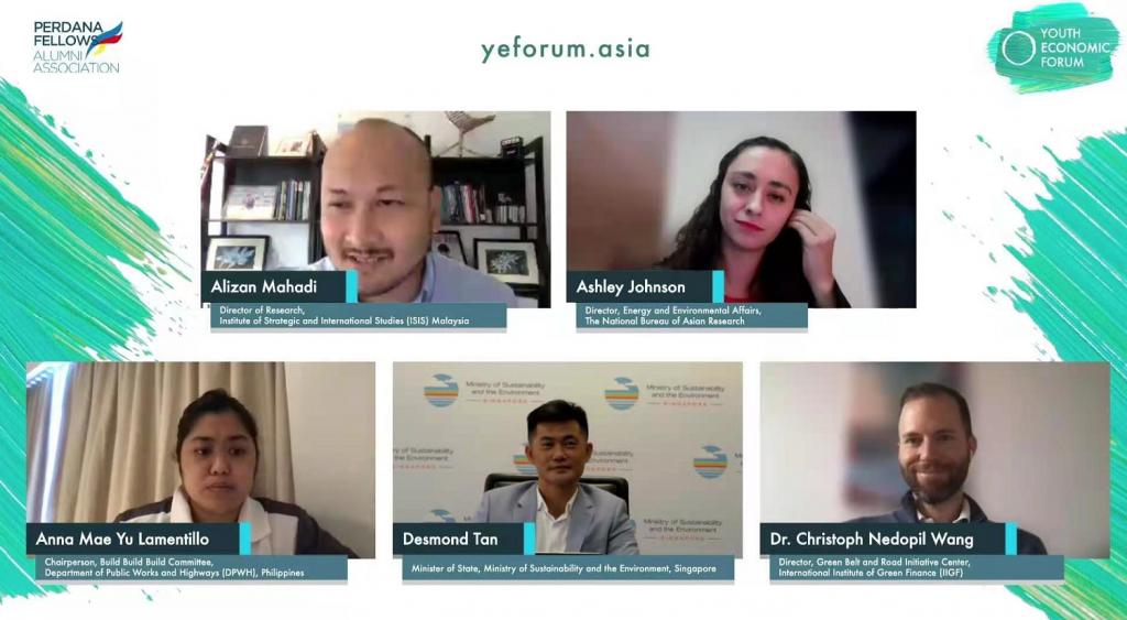 Youth Economic Forum Sustainability Panel