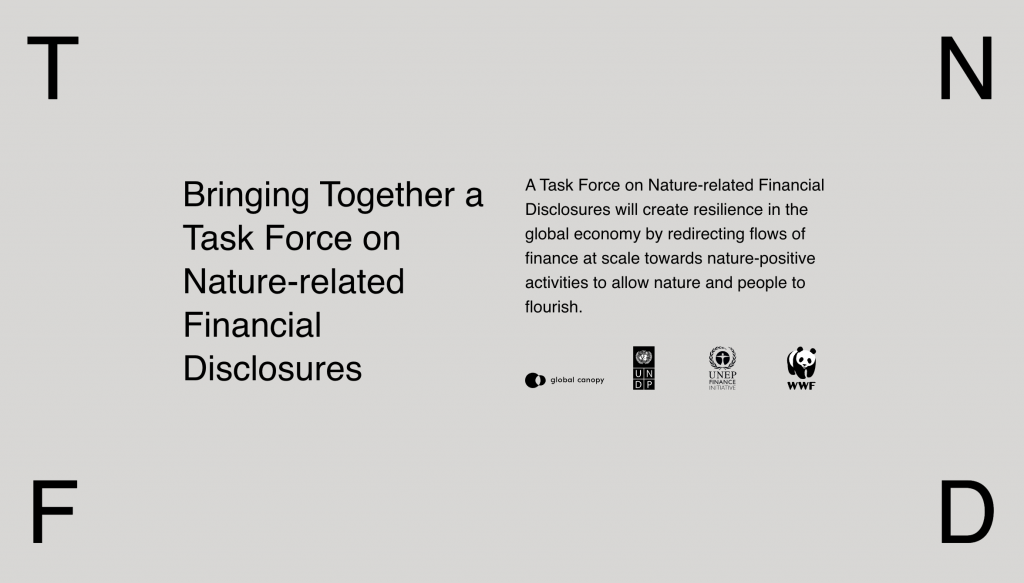 Task force for Nature-related Financial Disclosure.